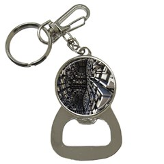 Fractal Art Pattern Bottle Opener Key Chains by AnjaniArt