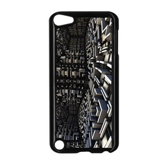 Fractal Art Pattern Apple iPod Touch 5 Case (Black) by AnjaniArt