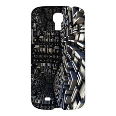 Fractal Art Pattern Samsung Galaxy S4 I9500/i9505 Hardshell Case by AnjaniArt