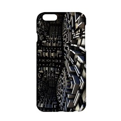 Fractal Art Pattern Apple Iphone 6/6s Hardshell Case by AnjaniArt