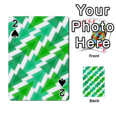 Geometric Art Pattern Playing Cards 54 Designs  by AnjaniArt