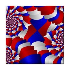 Happy Memorial Day Tile Coasters