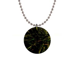 Magic Art Particle Texture Button Necklaces by AnjaniArt