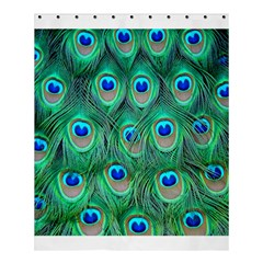 Peacock Feather Shower Curtain 60  X 72  (medium)  by AnjaniArt