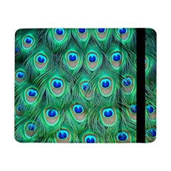 Peacock Feather Samsung Galaxy Tab Pro 8 4  Flip Case by AnjaniArt