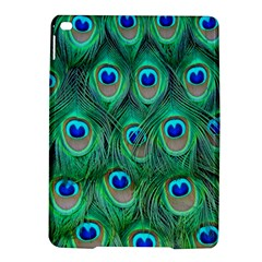 Peacock Feather Ipad Air 2 Hardshell Cases by AnjaniArt