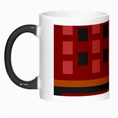 Red Aztec Morph Mugs
