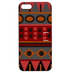 Red Aztec Apple Iphone 5 Hardshell Case With Stand by AnjaniArt