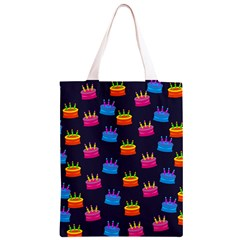 Seamless Tile Repeat Pattern Classic Light Tote Bag by AnjaniArt