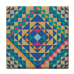 Tiling Pattern Tile Coasters by AnjaniArt