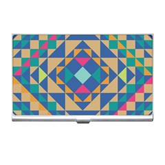 Tiling Pattern Business Card Holders by AnjaniArt