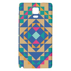 Tiling Pattern Galaxy Note 4 Back Case by AnjaniArt
