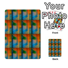 Wall Of Colour Duplication Multi Purpose Cards (rectangle)  by AnjaniArt