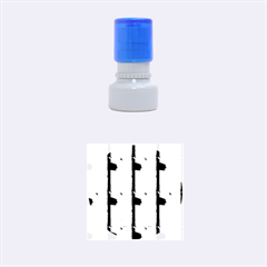 Wall Of Colour Duplication Rubber Round Stamps (small) by AnjaniArt