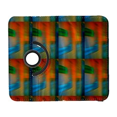 Wall Of Colour Duplication Samsung Galaxy S  III Flip 360 Case by AnjaniArt