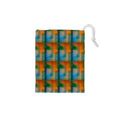 Wall Of Colour Duplication Drawstring Pouches (xs)  by AnjaniArt