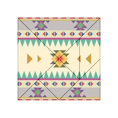 Your First Aztec Pattern Acrylic Tangram Puzzle (4  x 4 ) by AnjaniArt