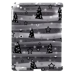 Gray Xmas Magic Apple Ipad 3/4 Hardshell Case (compatible With Smart Cover) by Valentinaart