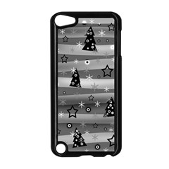 Gray Xmas Magic Apple Ipod Touch 5 Case (black) by Valentinaart