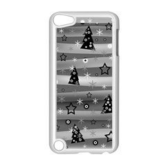 Gray Xmas Magic Apple Ipod Touch 5 Case (white) by Valentinaart