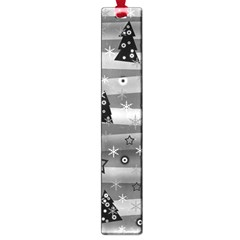 Gray Xmas Magic Large Book Marks by Valentinaart