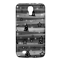Gray Xmas Magic Samsung Galaxy Mega 6 3  I9200 Hardshell Case by Valentinaart