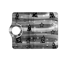 Gray Xmas Magic Kindle Fire Hd (2013) Flip 360 Case by Valentinaart