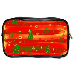 Xmas Magic Toiletries Bags 2 Side by Valentinaart
