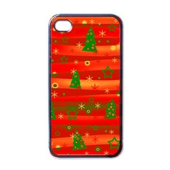 Xmas Magic Apple Iphone 4 Case (black) by Valentinaart