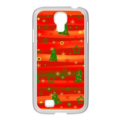 Xmas Magic Samsung Galaxy S4 I9500/ I9505 Case (white) by Valentinaart