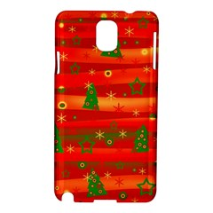 Xmas Magic Samsung Galaxy Note 3 N9005 Hardshell Case by Valentinaart