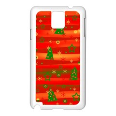 Xmas Magic Samsung Galaxy Note 3 N9005 Case (white) by Valentinaart