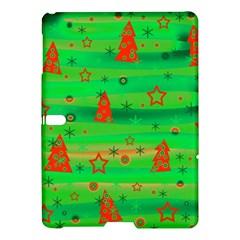 Green Xmas Magic Samsung Galaxy Tab S (10 5 ) Hardshell Case  by Valentinaart