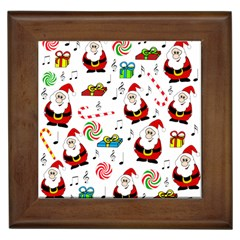 Xmas Song Framed Tiles by Valentinaart