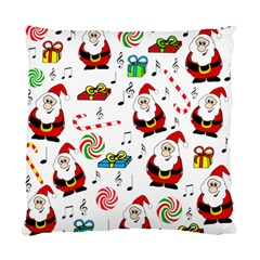 Xmas Song Standard Cushion Case (one Side) by Valentinaart