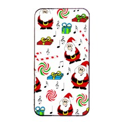 Xmas Song Apple Iphone 4/4s Seamless Case (black) by Valentinaart