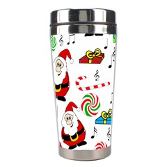 Xmas Song Stainless Steel Travel Tumblers by Valentinaart