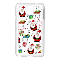 Xmas Song Samsung Galaxy Note 3 N9005 Case (white) by Valentinaart