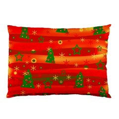 Christmas Magic Pillow Case by Valentinaart
