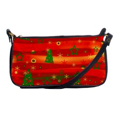 Christmas Magic Shoulder Clutch Bags by Valentinaart