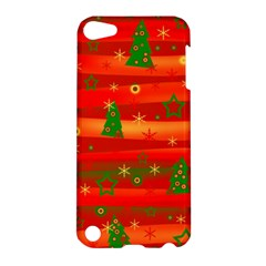 Christmas Magic Apple Ipod Touch 5 Hardshell Case by Valentinaart
