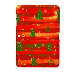 Christmas Magic Samsung Galaxy Tab 2 (10 1 ) P5100 Hardshell Case  by Valentinaart