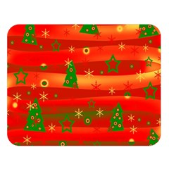 Christmas Magic Double Sided Flano Blanket (large)  by Valentinaart