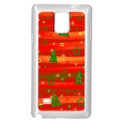Christmas Magic Samsung Galaxy Note 4 Case (white) by Valentinaart
