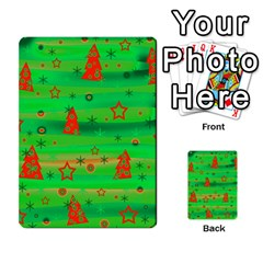 Xmas Magical Design Multi Purpose Cards (rectangle)  by Valentinaart
