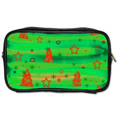 Xmas Magical Design Toiletries Bags 2 Side by Valentinaart