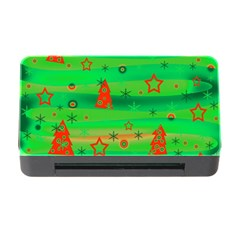 Xmas Magical Design Memory Card Reader With Cf by Valentinaart