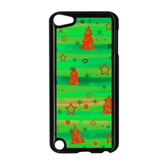 Xmas Magical Design Apple Ipod Touch 5 Case (black) by Valentinaart