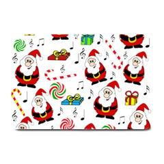 Xmas Song Plate Mats by Valentinaart