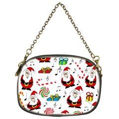 Xmas Song Chain Purses (one Side)  by Valentinaart